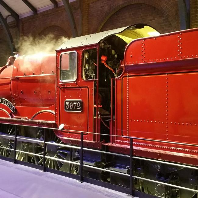 le train d'Harry Potter
