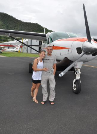 Two Travel The World - Great Barrier Scenic Flight