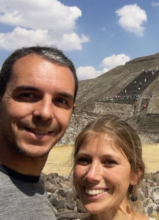 Two Travel The World - Exploring Teotihuacan From Mexico City