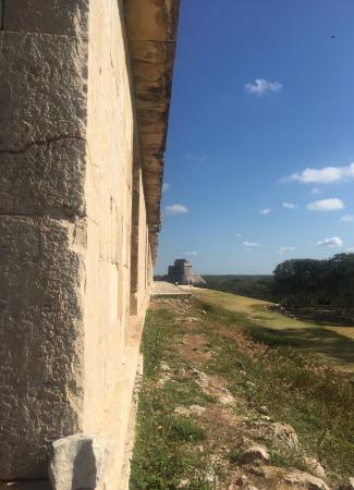 Two Travel The World - Uxmal ruins