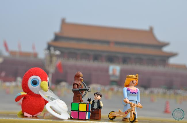 Two Travel The World - Tian'anmen Square
